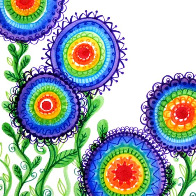 des-fleurs-arc-en-ciel